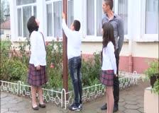 Вижте каква бе атмосферата на откриването на учебната година в  Скравена