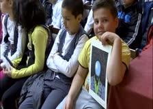 Ученици от основните училища се срещнаха с писателя Борислав Ганчев и карикатуриста Николай Арнаудов