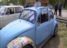 Картини от автомобилния Ретро-парад Ботевград 2015
